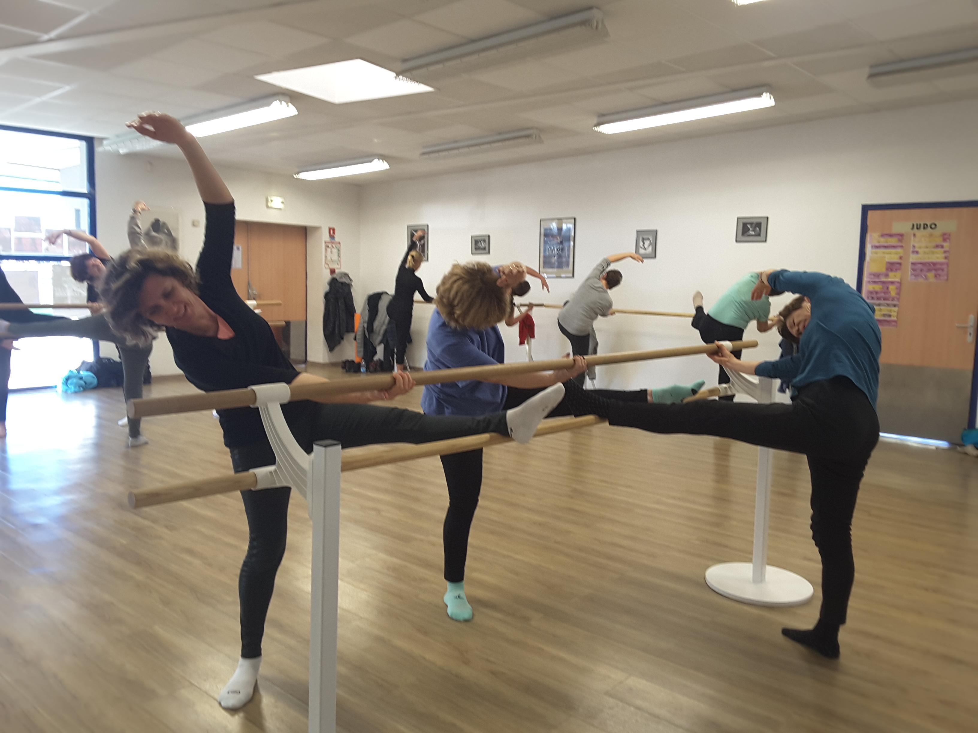 Un travail de gym pour un corps de danseuse